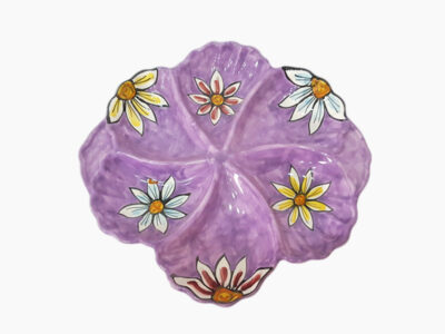 Antipastiera Conchiglia - L'Arte in Ceramica Vietrese