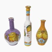 Bottiglia per liquore - L'Arte in Ceramica Vietrese