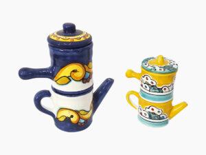 Caffettiera Napoletana - L'Arte in Ceramica Vietrese