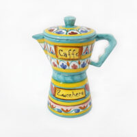 Caffettiera - L'Arte in Ceramica Vietrese