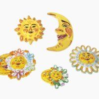 Sole Luna Eclissi - L'Arte in Ceramica Vietrese