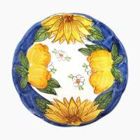 Piatto classico frutta - L'Arte in Ceramica Vietrese
