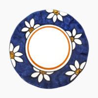 Piatto classico piano - L'Arte in Ceramica Vietrese