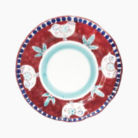 Piatto classico tondo vietrese - L'Arte in Ceramica Vietrese