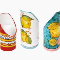 Portabicchiere singolo - L'Arte in Ceramica Vietrese