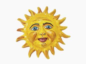 Sole Maxi da appendere - L'Arte in Ceramica Vietrese