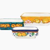 Sottovaso per bonsai - L'Arte in Ceramica Vietrese