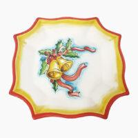 Centrotavola natalizio - L'Arte in Ceramica Vietrese