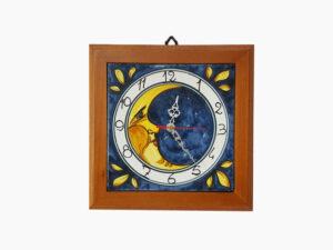 Orologio con cornice - L'Arte in Ceramica Vietrese