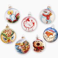 Accessori per albero di Natale - L'Arte in Ceramica Vietrese