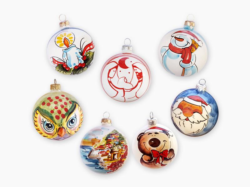Accessori per albero di Natale – L'Arte in Ceramica Vietrese