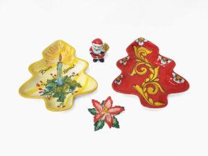 Piatti Natalizi - L'Arte in Ceramica Vietrese