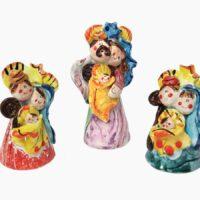 Presepe forma conica - L'Arte in Ceramica Vietrese