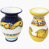 Vaso portafiori 25cm - L'Arte in Ceramica Vietrese