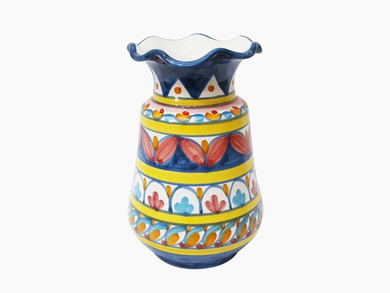 Vaso portafiori – L'Arte in Ceramica Vietrese