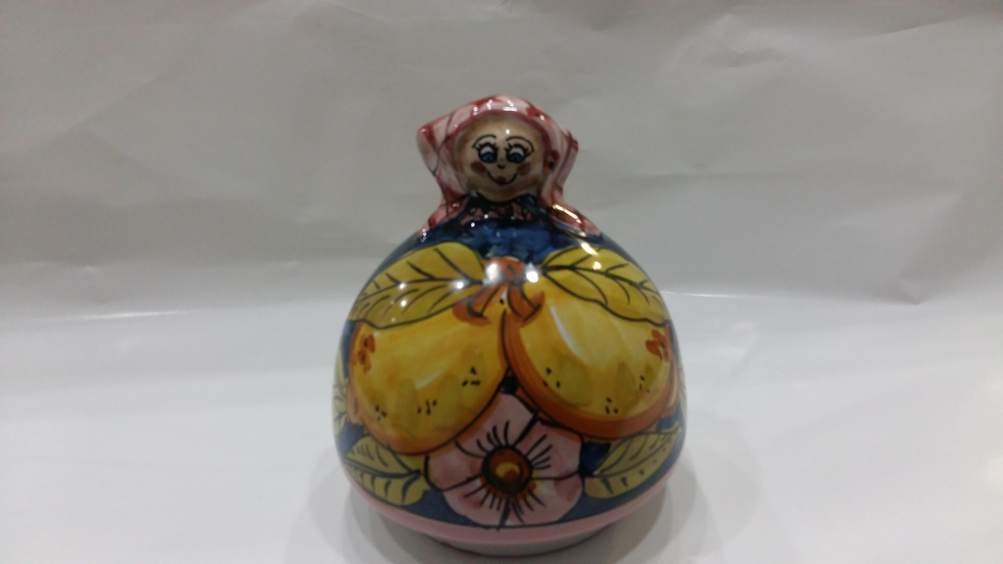 Porta Spugne Da Bagno : Porta spugna bambolina arte in ceramica vietrese