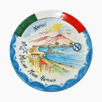 Piatto da muro personalizzato - L'Arte in Ceramica Vietrese