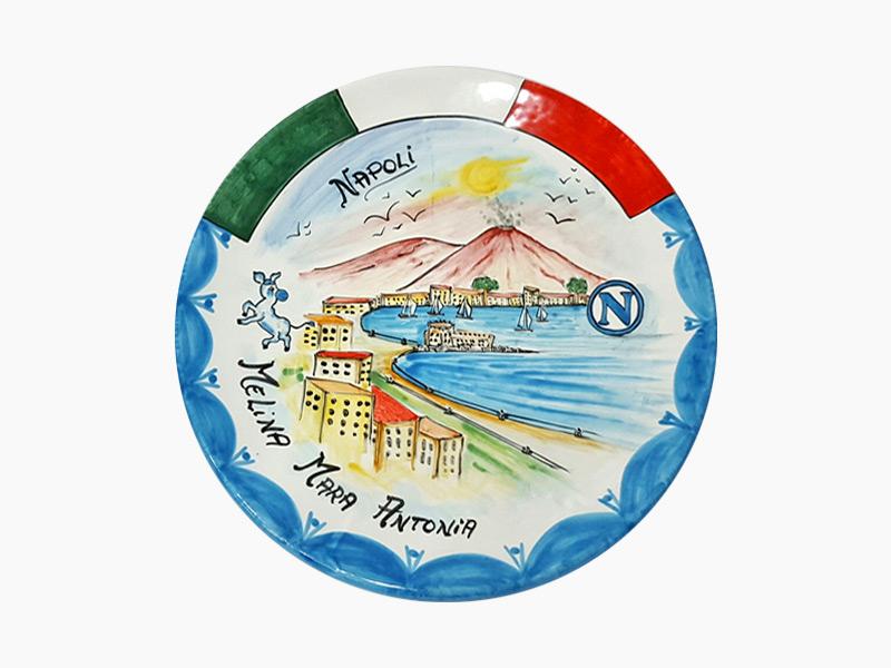Piatto da muro personalizzato – L'Arte in Ceramica Vietrese