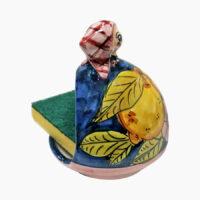 Porta Spugna Bambolina - L'Arte in Ceramica Vietrese