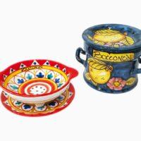 Porta bocconcini - L'Arte in Ceramica Vietrese