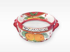 Porta bocconcini - Arte in Ceramica Vietrese