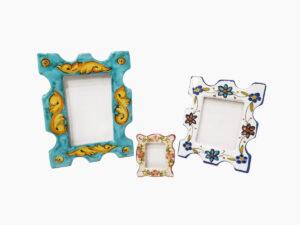 Porta foto rettangolare - L'Arte in Ceramica Vietrese