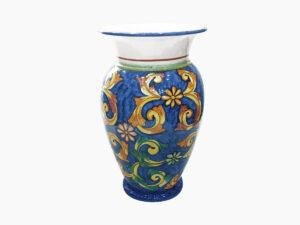 Portaombrelli o vaso portafiori- L'Arte in Ceramica Vietrese