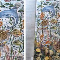Pannello Marino - L'Arte in Ceramica Vietrese