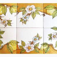 Pannello Sorrento 60x40 - L'Arte in Ceramica Vietrese
