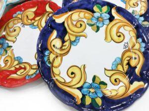 Piatto personalizzato - L'Arte in Ceramica Vietrese