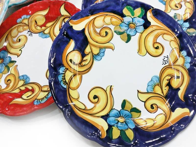 Piatto personalizzato – L'Arte in Ceramica Vietrese