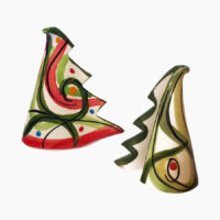Alberello stilizzato - L'Arte in Ceramica Vietrese