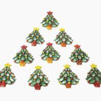 Calamite natalizie - L'Arte in Ceramica Vietrese