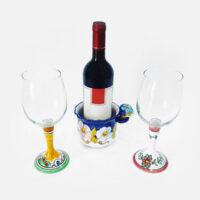 Calici vino - L'Arte in Ceramica Vietrese