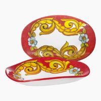 Piatto pane - L'Arte in Ceramica Vietrese