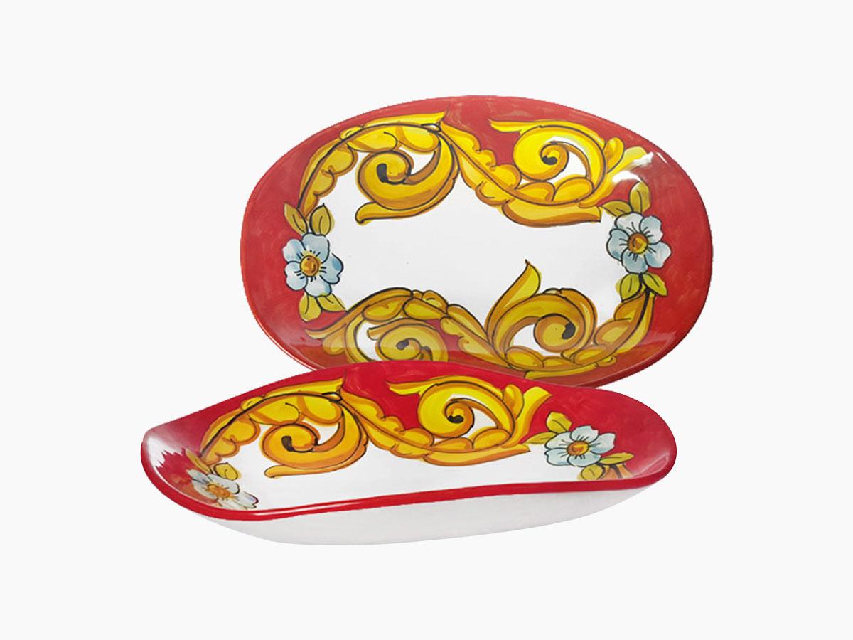 Piatto pane – L'Arte in Ceramica Vietrese