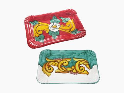 Vassoio dolce - L'Arte in Ceramica Vietrese