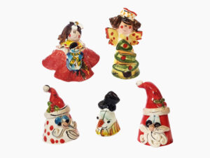 Campane natalizie - L'Arte in Ceramica Vietrese
