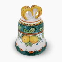 Campane con fiocco PASQUA - L'Arte in Ceramica Vietrese