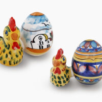 Uova PASQUA - L'Arte in Ceramica Vietrese