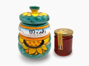 BARATTOLO PORTA MIELE - L'Arte in Ceramica Vietrese